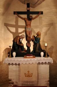 Lorenzkirch, Sankt Laurentiuskirche Altar