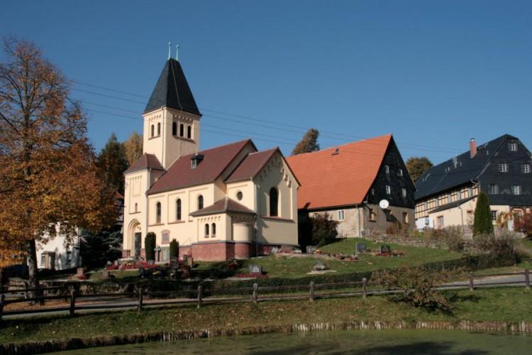 Schlagwitz, Dorfkirche