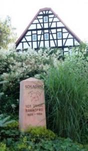 Schlagwitz, Obelisk