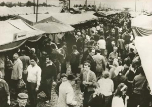 Lorenzmarkt um 1960
