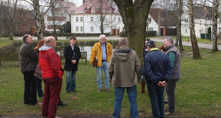 Zu Besuch in Gottscheina und Wölkau
