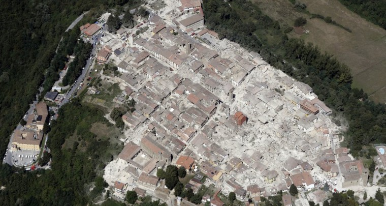 Solidarität mit Amatrice - Spenden für den Wiederaufbau erbeten