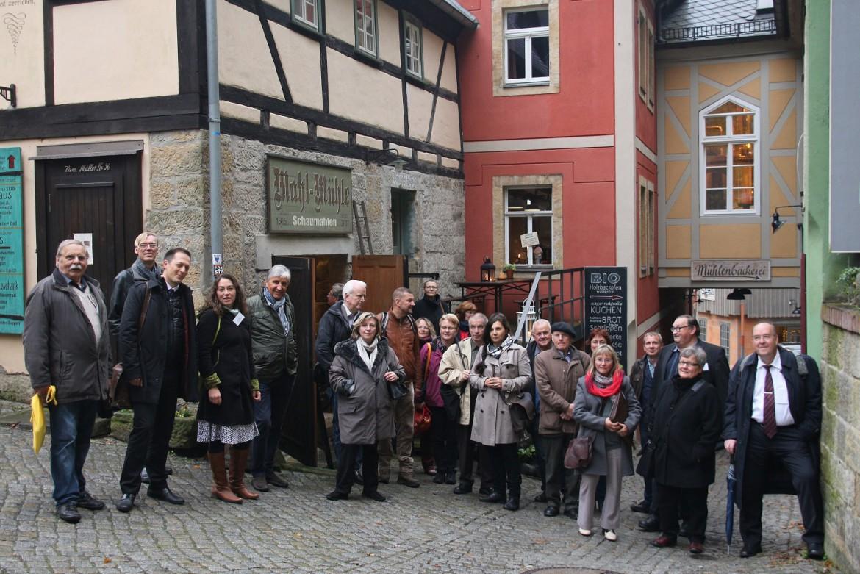 IG Sachsens Schönste Dörfer: große Begeisterung nach dem Dorfrundgang mit Sven-Erik Hitzer und Bürgermeister Thomas Kunack