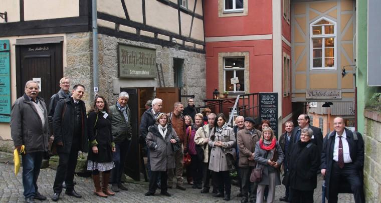 IG Sachsens Schönste Dörfer in Schmilka