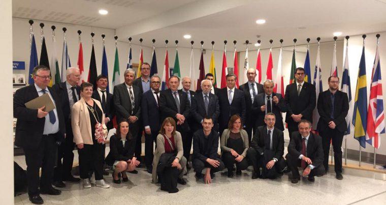 Europas Netzwerk der Baukultur-Dörfer im Europa-Parlament – Sachsens Schönste Dörfer sind dabei