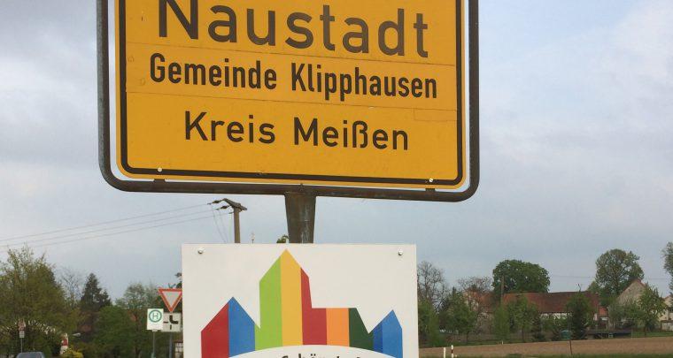 Naustadt: Sachsens Schönste Dörfer - wir sind dabei