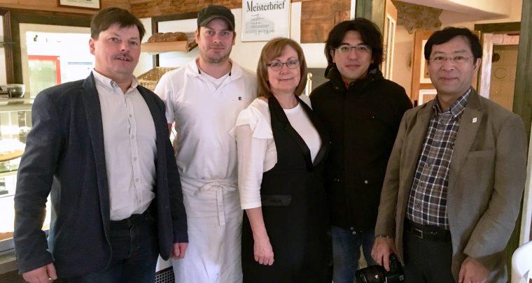 Japanische Gäste in Sachsens Schönsten Dörfern