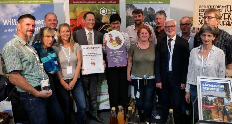 Europäischer Dorferneuerungspreis 2018 an die Verwaltungsgemeinschaft Bad Schandau