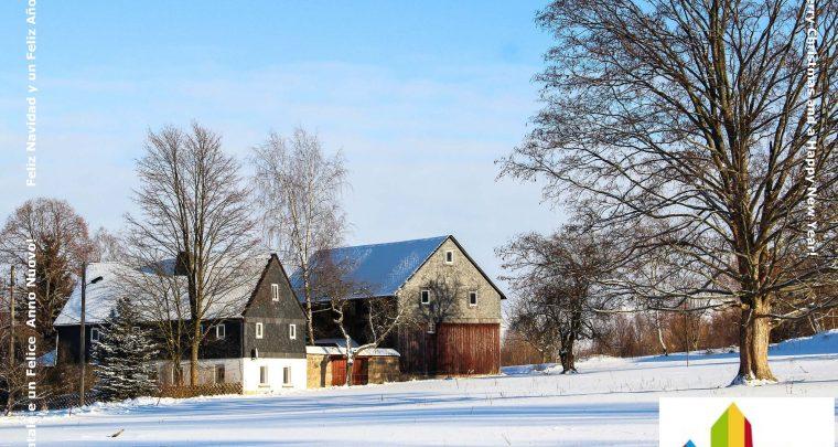 Sachsens Schönste Dörfer wünschen Frohe Weihnachten und ein Glückliches Neues Jahr