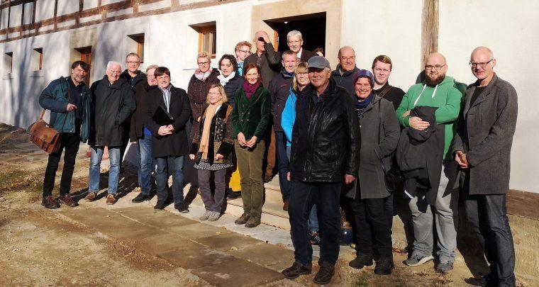 Mitgliederversammlung 2019 der IG Sachsens Schönste Dörfer in Naustadt
